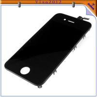 Cell Phone Faceplate Accessories For IPhone 4 Touch Screen Glass Digitizer / LCD Assemble Manufactures
