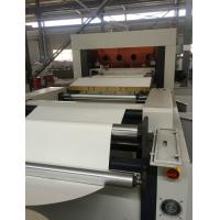 Easy Operate Paper Cup Die Cutting Machine With Shaftless / Straight League Transmission Manufactures