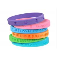 Translucent Rubber Bracelets Custom Silicon Wristbands Bulk Personalized Manufactures
