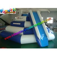 Funny Game Inflatable Pool Toys 0.9mm PVC Climbing Slide For Sea Manufactures