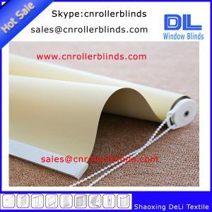 China 100% Blackout Popular Vinyl Roller Blinds In Nowdays For World Market on sale