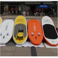 China Rigid Sturdy Inflatable SUP Board , Non Toxic Inflatable Standing Paddle Board on sale