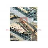 Quality Commercial Vvvf Control Moving Walk Escalator With 35 Degree 1000mm Step Width for sale