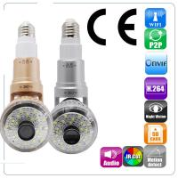 Buy cheap EAZZYDV Wireless  Bulb Wifi Camera Indoor Security Camera with LED light and Remote Control from wholesalers