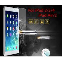Wholesale brand Tempered Glass Screen Protector Flim for iPad iPad mini iPad air air 2 Manufactures