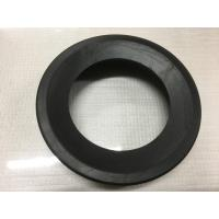 Round Black Durable Toilet Fittings , Toilet Rubber Gasket 30-90 Shore Hardness Manufactures