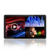 18.5-98 Inch Remote Control Digital Advertising Lcd Screens , High Brightness Flat Touch Screen Monitor Manufactures