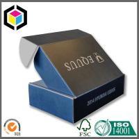 CMYK Full Color Black Print Cardboard Shipping Box; Apparel Mailing Box Manufactures
