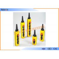 China IP65 Industrial Remote Pendant Control Stations Plastic For Crane on sale