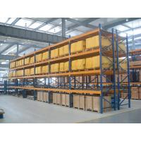 Metal shelf racking systems , Palletised Products  heavy duty storage shelves  12m Manufactures