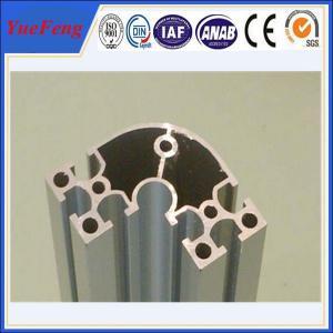 Quality electrophoretic aluminum profile manufacturer OEM aluminium t-slot extrusion for sale