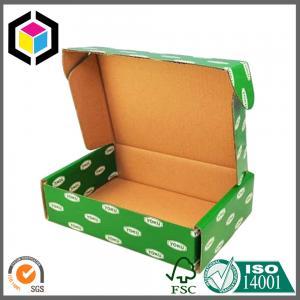 Green Color CMYK Design Artwork Printed Paper Corrugated Cardboard Packaging Box Manufactures