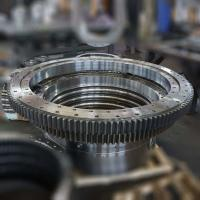 China high precision slewing bearing, single row ball type slewing ring, swing bearing on sale