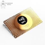 Customised Metal  Smart Rfid Hotel Key Cards 13.56mhz Door Entrance Hotel Supply Manufactures