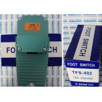Large Foot Tend Limit Switch With Plastics And Aluminium Cast Rind TFS-402 Foot Switch Manufactures