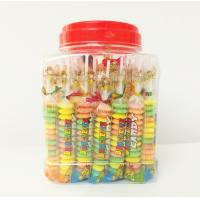 Multi Fruit Flavor Baby Compressed Candy Brochette In Plastic Jars Taste Sweet And Sour Manufactures