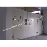 PU Foam Sandwich Panel Modular Cold Room Panel For Meat And Fish Walk In Chiller Manufactures