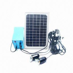 Solar home system, 5W, 18V Manufactures