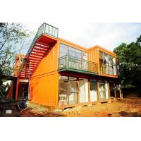 Wind Resistance Metal Storage Container Homes Reliable With UPVC Sliding Window Manufactures
