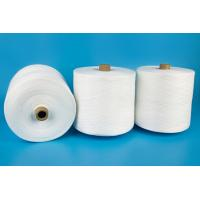 Paper Cone Raw White Polyester Ring Spun Yarn High Strength And Knotless Manufactures