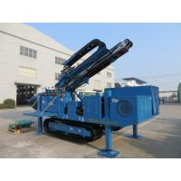 MDL-C160 Big Torque Rotary Drilling Rig , High Rotary Speed Ground Drilling Machine Ceawler Mounted Manufactures