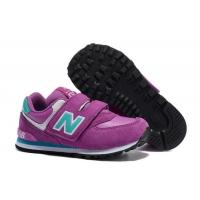China New Balance 574 Kids Shoes For 6 Years Old Boy And Girls Running Sport Shoes Red Black NB 996 Children Sneaker on sale