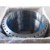 ASTM A105 Carbon Steel Forged Flange CE BV SGS , UNI JIS BS Flange For Pipe Fittings Manufactures