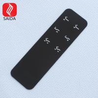 China OEM Customized 1mm Thicknes Low Iron Glass with Through Hole for Touch Keypad for Industrial Appliance on sale