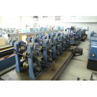 ASTM Standard Steel Pipe Making Machine High Speed High Frequency Welder Manufactures