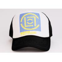 Quality Hip Hop Printing Logo Mesh Trucker Hats Multi-color 5 Panels Unisex for sale