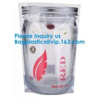 Jar Shaped Pouches, Round Bottom Plastic Bag/Stand Up Pouch Bag For Meat,Pork