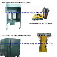 Small Powder Coating Line Powder Curing Oven Manual Spray Booth Powder Coating Machine Manufactures