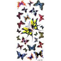 Nontoxic Customized Temporary ink modern Body Art Tattoos with Fashion Design Manufactures