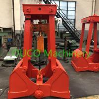China Electric Hoist Type Clamshell Crane Bucket For Bulk Cargo Portable Design for sale