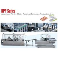 China Pharmaceutical Packaging Line Alu Plastic Blister Carton Packaging Production Line on sale