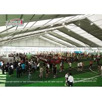 China Aluminium Frame Huge Outdoor Tents For Parties / Wedding With Transparent PVC Roof on sale