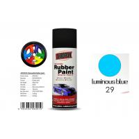 Glossy / Matte Plasti Dip Removable Rubber Spray Paint Peel Off Moisture Resistant Manufactures