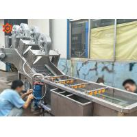 3 KW Power Vegetable Processor Machine Blueberry Washing Machine 800 Kg/H Capacity Manufactures