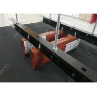 Drop Ceiling Tiles / Architectural Metal Plank Wood Linear Baffle Ceiling Manufactures