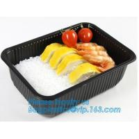 takeaway food container disposable plastic lunch bento box,square PLA plastic food container,fast food package essential Manufactures