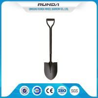 One Tube Handle Steel Spade Shovel 2.2kg 1000MM Total Length For Snowing Manufactures