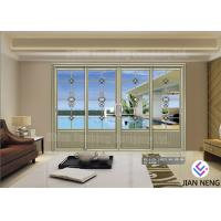 China Customized Contemporary Design Aluminum Sliding Doors Sound Insulation on sale