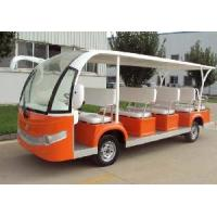 DV2142e/DV2142m Fourteen Seats Electric Sightseeing Cart Manufactures