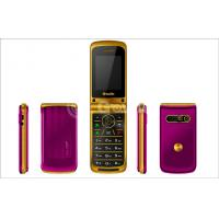 Small Unlocked Flip Model Mobile Phones , 8G 950mAh mobile flip phone Manufactures