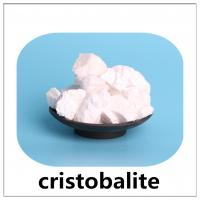 Cristobalite with whiteness powder and colored material by conversion china lianyungang for casting investment Manufactures