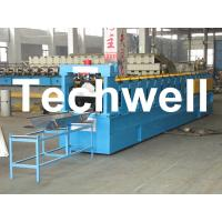 K-Span Arch Roof Roll Forming Machine For 0.8 - 1.5mm Thickness Large Span Roof Panel Manufactures
