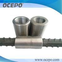 OCEPO Upset forging rebar coupler 16-40mm tensile strength could get 800 Mpa Manufactures