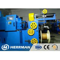 Buy cheap Triple Layer Concentric Cable Taping Machine Speed Up To 2200RPM PLC Control from wholesalers