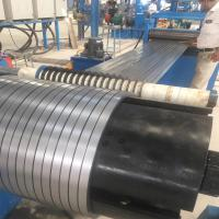 China Automatic Metal Material Folding Slitting Line Machine For 1-5mm Galvanized Steel on sale