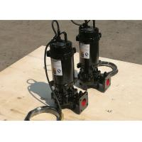 China Submersible Vortex Vertical Sewage Pump Low Pressure IP68 Motor Protection on sale